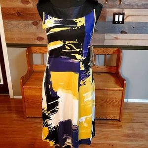 Peter Nygard Sleeveless 100% Silk Dress